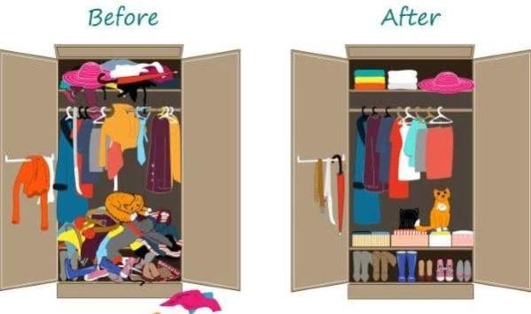 Come organizzare l'armadio per vivere meglio