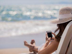 Migliorare uso dello smartphone durante le ferie