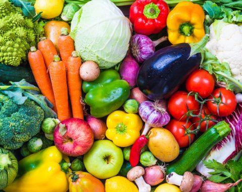 cibo vegano e vegetariano